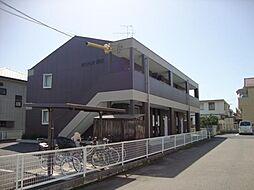愛知県江南市赤童子町御宿の賃貸アパートの外観