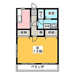メゾンDEダイエーI[1階]の間取り
