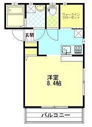 H&Y[2階]の間取り