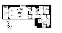 b'CASA Kitasuna 〜ビーカーサキタスナ〜[101号室]の間取り