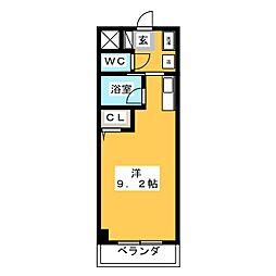 ベル・メゾン[4階]の間取り