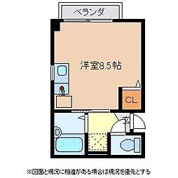 マンション・チェリーロック[3階]の間取り