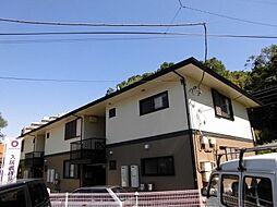 東京都八王子市東浅川町の賃貸アパートの外観