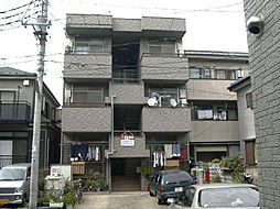 埼玉県川口市鳩ヶ谷緑町1丁目の賃貸マンションの外観