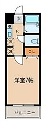 コンフォートファースト[2階]の間取り