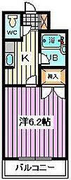 埼玉県さいたま市南区内谷3丁目の賃貸マンションの間取り