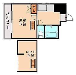 コーポウイング[3階]の間取り