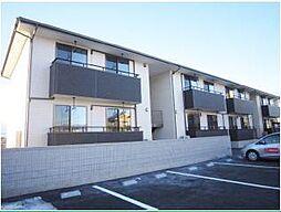 山梨県笛吹市石和町広瀬の賃貸アパートの外観