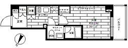 ステージグランデ平和台[4階]の間取り