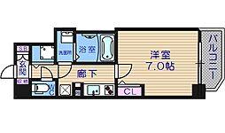ララプレイス大阪城ヴェステン[2階]の間取り