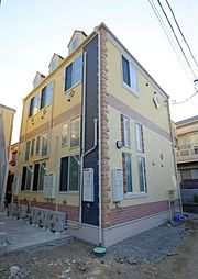 神奈川県横浜市磯子区岡村3丁目の賃貸アパートの外観