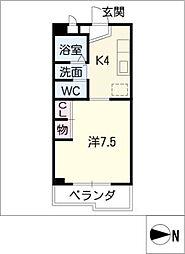 ステージワン[2階]の間取り
