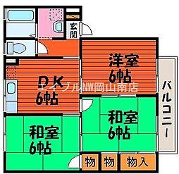 エスペランサ平野 B棟[1階]の間取り