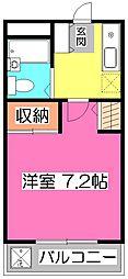 アピーズ11[2階]の間取り