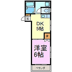 大須寿ビル[701号室]の間取り