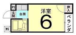 ハイツ高畠[01号室]の間取り