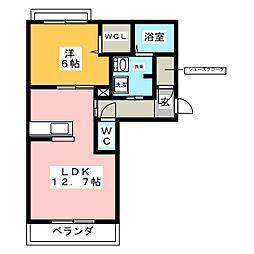 仮称 熱田区神戸町ベレオ[3階]の間取り