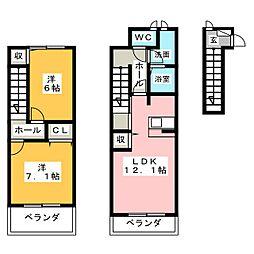 Dreamer[2階]の間取り