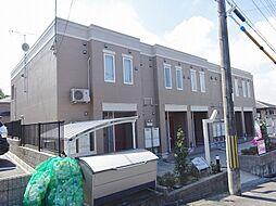 滋賀県甲賀市水口町山の賃貸アパートの外観