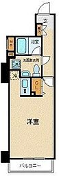 神奈川県横浜市西区浜松町の賃貸マンションの間取り