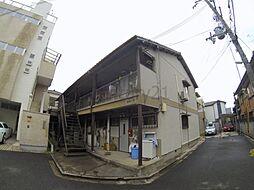 大阪府池田市神田3丁目の賃貸アパートの外観