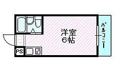 空心マンション[1階]の間取り
