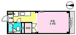 東京都江戸川区東小岩3丁目の賃貸マンションの間取り