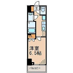 ファイカス藤沢[2階]の間取り