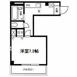 エール湘南台[2階]の間取り