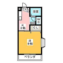 ショウトク[2階]の間取り