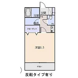愛知県岡崎市柱4丁目の賃貸マンションの間取り