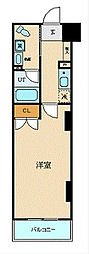 JR京浜東北・根岸線 横浜駅 徒歩5分の賃貸マンション 5階1Kの間取り