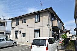 東京都あきる野市小川東2丁目の賃貸アパートの外観