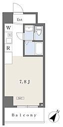 NK103 5階ワンルームの間取り