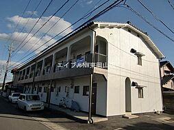 岡山県岡山市中区清水丁目なしの賃貸アパートの外観