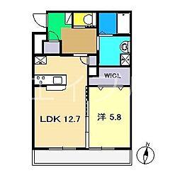 LINE[1階]の間取り