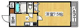 ヒストリカル堺[2階]の間取り