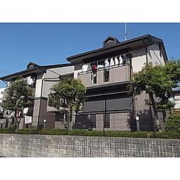 京都府木津川市相楽台8丁目の賃貸アパートの外観
