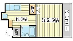 ファイブマンション[605号室]の間取り