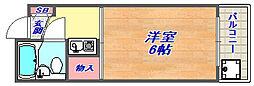 第五ハイツ香川[403号室]の間取り