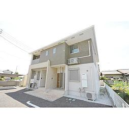 埼玉県日高市高萩の賃貸アパートの外観