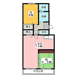 メローネINN[2階]の間取り