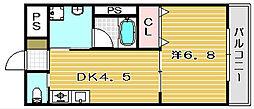 ラ・ドルチェ[302号室]の間取り