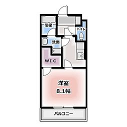 青雲[101号室]の間取り