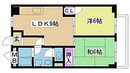 MITSUIマンション[305号室]の間取り
