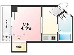 石井マンションB[2階]の間取り