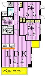 仮称)西新井大師マンション[7階]の間取り