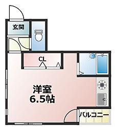 ハイドレンジャー[2階]の間取り