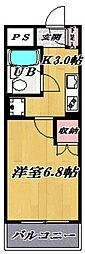 シャトレ宮崎台[203号室号室]の間取り