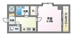 リイド22[3階]の間取り